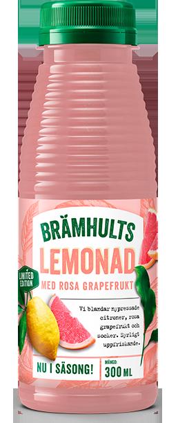 Lemonad med rosa grapefrukt