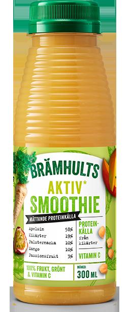 Smoothie Aktiv med smak av apelsin och kikärtor