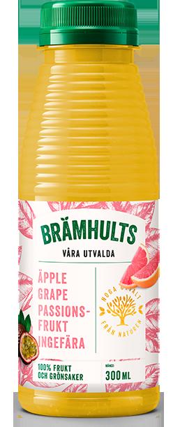 Äpple, Grapefrukt, Passionsfrukt, Ingefära